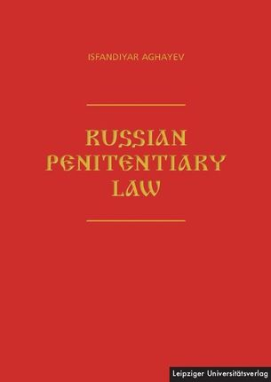 Russian Penitentiary Law