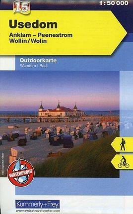 KuF Deutschland Outdoorkarte 15. Usedom 1 : 50.000