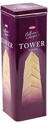 """Žaidimas """"Virstantis bokštas"""" metalinėje dėžutėje"""