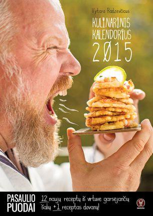 """Vytaro Radzevičiaus kulinarinis """"Pasaulio puodų"""" kalendorius: 12 naujų ir nepaprastai skanių patiekalų receptų iš virtuve garsėjančių šalių ir įkvepiančios keliauti istorijos"""