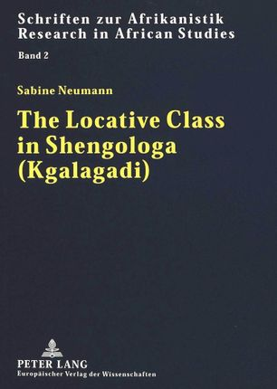 The Locative Class in Shengologa (Kgalagadi)