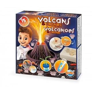 """Eksperimentų rinkinys """"Vulkanai ir dinozaurai"""""""