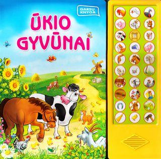 Ūkio gyvūnai. Garsų knyga