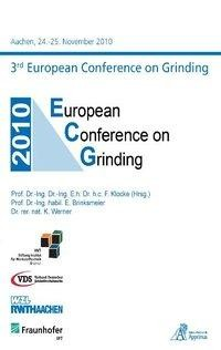3rd European Conference on Grinding ECG