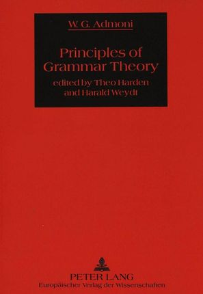 Principles of Grammar Theory