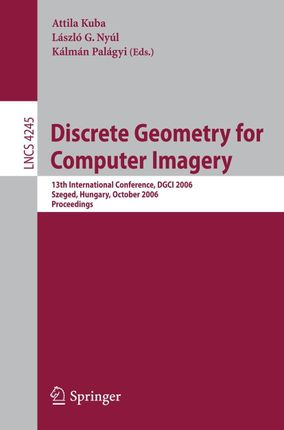 Discrete Geometry for Computer Imagery
