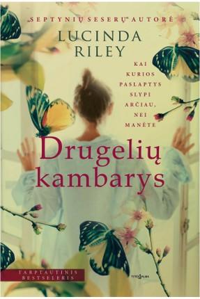 DRUGELIŲ KAMBARYS: įkvepiantis romanas apie šeimą, kurios praeityje glūdi grėsminga paslaptis