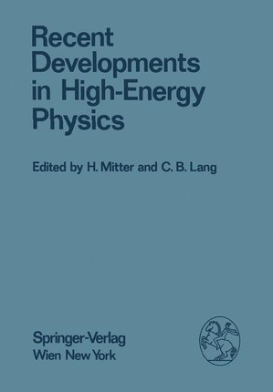 Recent Developments in High-Energy Physics