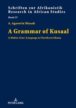 A Grammar of Kusaal