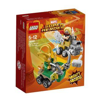 76091 LEGO® Super Heroes Galingi mažieji: Toras prieš Loki