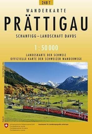 Swisstopo 1 : 50 000 Prättigau