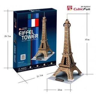 3D dėlionė: Eifelio bokštas