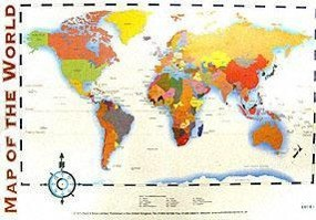 Map Of The World Com.Knyga Map Of The World Knygos Lt