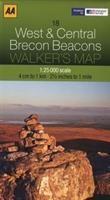 Walker's Map 18 Brecon Beacons 1 : 25 000