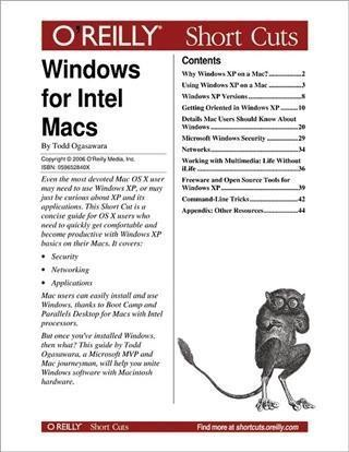 Windows for Intel Macs