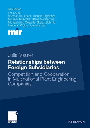 Relationships between foreign Subsidiaries