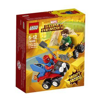 76089 LEGO® Super Heroes Galingi mažieji: Žmogus voras prieš smėlio žmogų