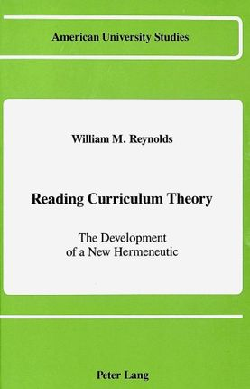 Reading Curriculum Theory