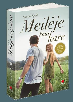 MEILĖJE KAIP KARE: naujas ir labai jausmingas BŪTI (SU) RAGANA autorės romanas apie meilę, kurioje kaip kare – galima viskas!