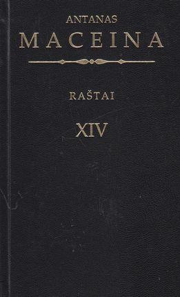 Raštai XIV tomas Maceina