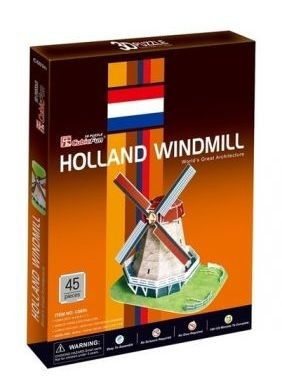 3D dėlionė: Dutch Windmill