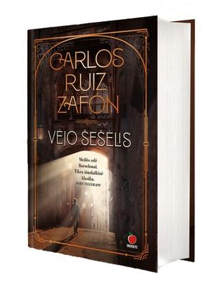 VĖJO ŠEŠĖLIS: Carlos Ruiz Zafon šedevras – pasaulinis literatūros fenomenas, aplenkęs visas knygas Ispanijoje ir išleistas milijoniniais tiražais daugiau nei 40 šalių