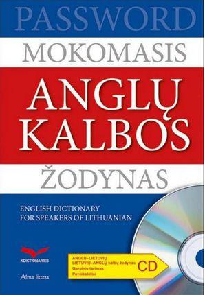 Mokomasis anglų kalbos žodynas Password (su CD)