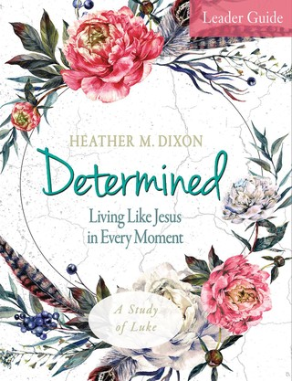 Determined - Women's Bible Study Leader Guide