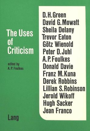 The Uses of Criticism
