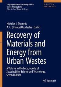 Recovery of Materials and Energy from Urban Wastes