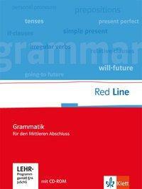 Red Line. Klassen 5-10. Grammatik für den mittleren Abschluss mit Lernsoftware
