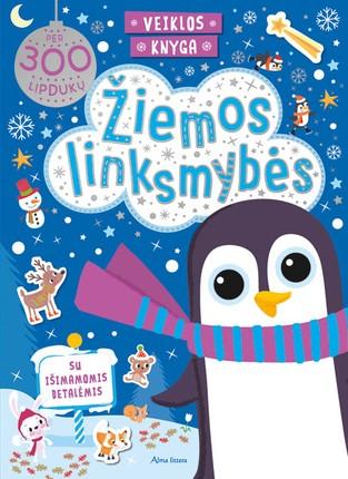Žiemos linksmybės: veiklos knyga