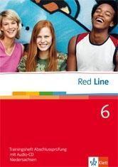 Red Line 6. Trainingsheft Abschlussprüfung mit Audio-CD. Niedersachsen