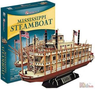 3D dėlionė: Mississippi Steamboat
