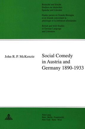 Social Comedy in Austria and Germany 1890-1933