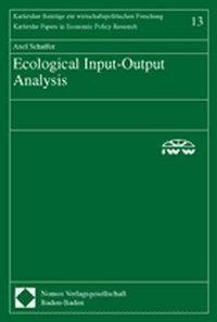 Ecological Input-Output Analysis. Dissertation