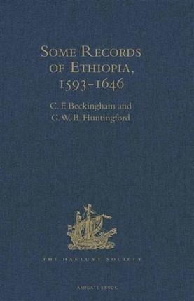 Some Records of Ethiopia, 1593-1646