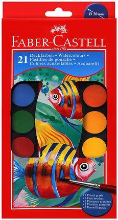 Akvarelės rinkinys Faber-Castell. 12 sp.