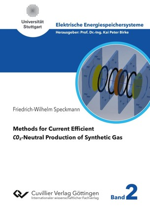 Methods for Current Efficient CO2-Neutral Production of Synthetic Gas