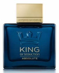 ANTONIO BANDERAS KING OF SEDUCTION ABSOLUTE tualetinis vanduo, 100ml (EDT)