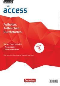 English G Access - G9 - Band 1: 5. Schuljahr - Wordmaster und Grammarmaster (Im Paket)