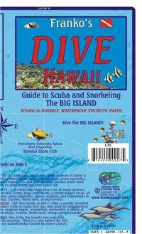 Franko Map Hawaii Dive Map