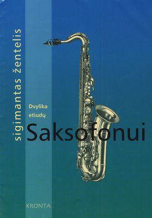 Dvylika etiudų saksofonui