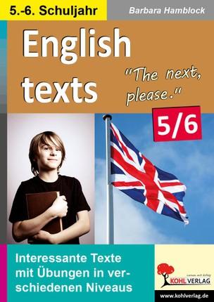 English texts - The next, please. / 5.-6. Schuljahr