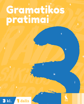 Gramatikos pratimai 3 klasei (1 dalis)