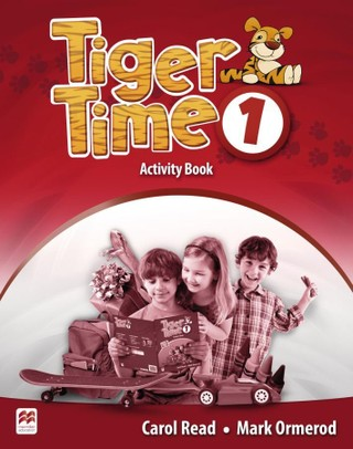 Tiger Time 1. Activity Book mit Stickerbogen