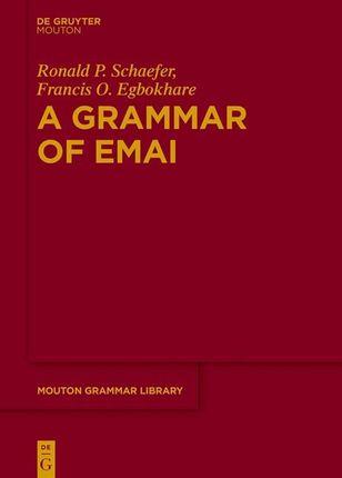 A Grammar of Emai