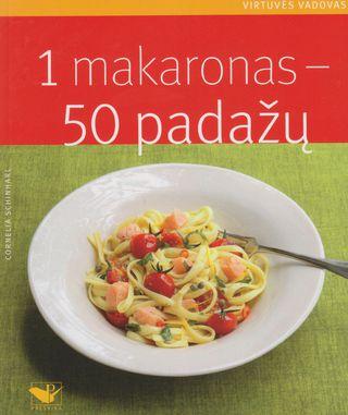 1 makaronas – 50 padažų