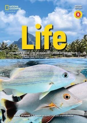 Life - Second Edition B2.1/B2.2: Upper Intermediate - Student's Book and Workbook (Combo Split Edition B) + Audio-CD + App