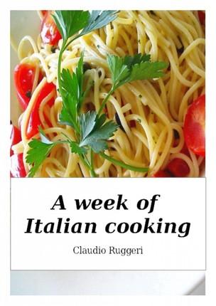 Week of Italian Cooking